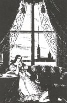 "An illustration from A. Pushkin's ""Eugene Onegin"""