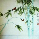 Bamboo & Birds - la pintura china