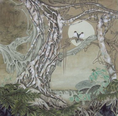 Birds&Tree - Chinese Painting