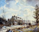 louveciennes road snow effect 1872