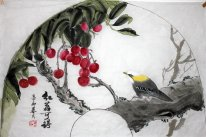 Litchi&Birds - Chinese Painting