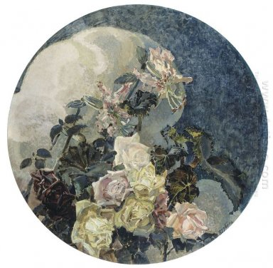 Roses And Orchids 1894
