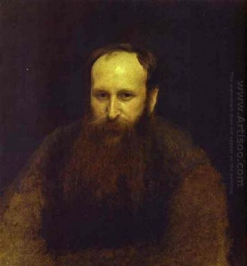 Portrait Of The Artist Vasily Vereshchagin 1883
