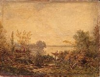 Edge Of River 1849
