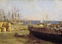 Fishing Vessels In Arkhangelsk 1894