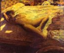 Woman Reclining On A Bed Or The Indolent Woman 1899