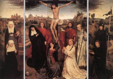 Triptych Of Jan Crabbe 1470