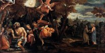 Baptism And Temptation Of Christ 1582