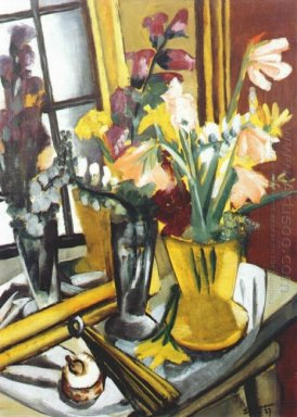 Floral Still Life With Mirror 1927