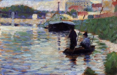 The Bridge View Of The Seine 1883