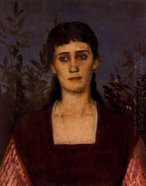 portrait of clara bruckmann b cklin