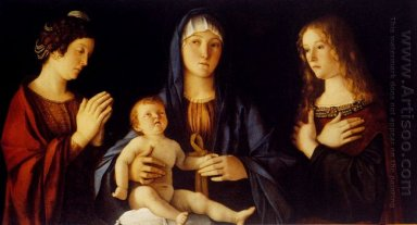 Virgin And Child With St Catherine And Mary Magdalene