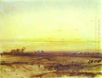 Landscape with Harvesters at Sunset