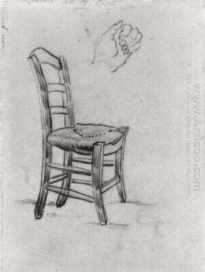 Chair And Sketch Of A Hand