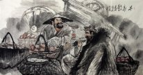 China's rural markets - Chinese painting - Chinese painting