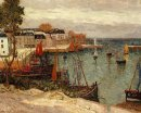 The Port Of Sauzon 1905