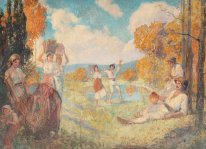 Autumn Allegory (The Art and The Wine)