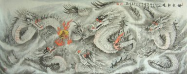 Dragon - pintura china