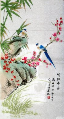 Bamboo&Birds - Chinese Painting