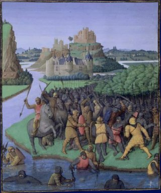 Battle Between The Maccabees And The Bacchides