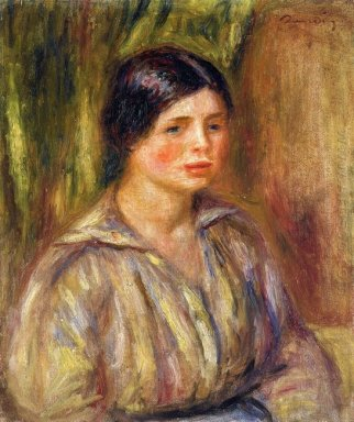 Bust Of A Young Woman 1913