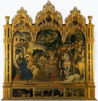 Adoration of the Magi, from the Strozzi Chapel in Santa Trinita,