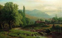 Crimean summer landscape