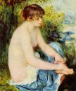 Small Nude In Blue 1879