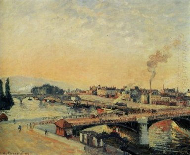 sunrise at rouen 1898