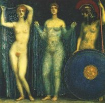 The three goddesses Hera, Aphrodite, Athena