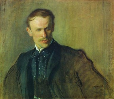 Portrait Of L P Albrecht 1905