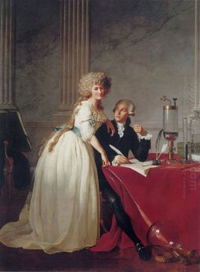 Portrait Of Antoine Laurent And Marie Anne Lavoisier
