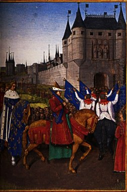 The Arrival Of Charles V 1337 80 In Paris 28Th May 1364