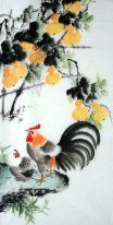 Gourd-Hen - Chinese Painting