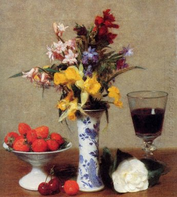 The Bethrothal Still Life 1869