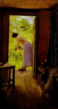 In A Summer Cottage 1895