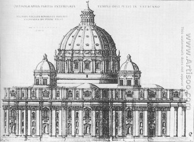 Project for St Peter\'s in Rome 1547