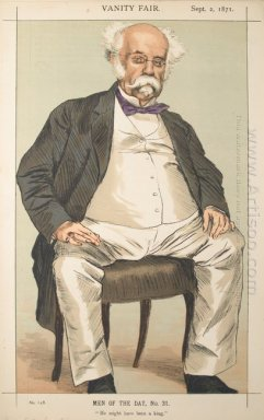 Men Or Women Of The Day No 310 Caricature Of The Duke Of Saldanh