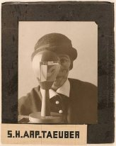Self-portrait with Dada-Kopf (Dada Head) 1926