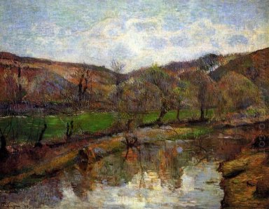 upstream of pont aven 1888
