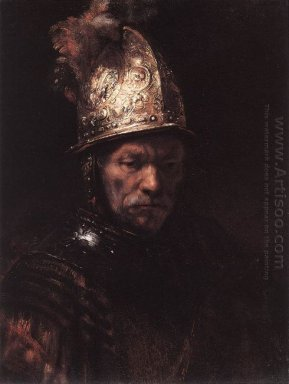 Man In A Golden Helmet 1669