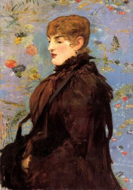 autumn study of mery laurent 1882