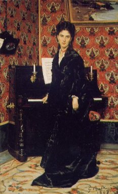 Portrait Of Mary Donegan 1869
