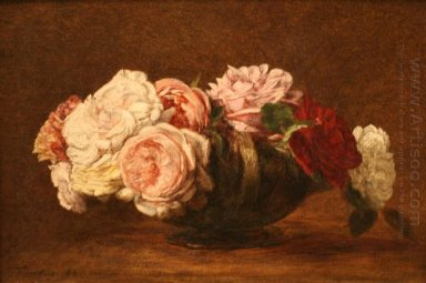 Roses In A Bowl 1883