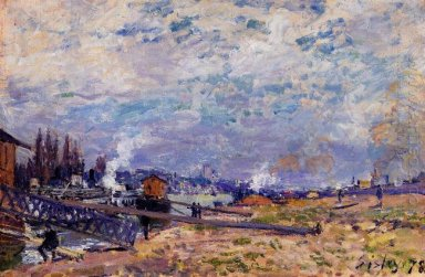 the seine at grenelle 1878
