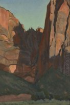 Aussparung in der Wand, Zion Nationalpark, August 1933