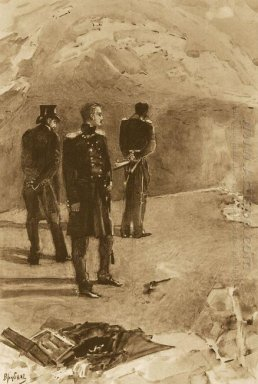 Duel Of Pechorin And Grushnitsky 1891