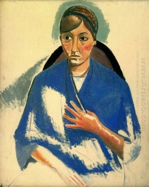 the portrait of woman 1913