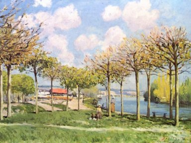 the seine at bougival 1876 1