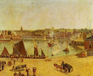 the inner harbor dieppe 1902